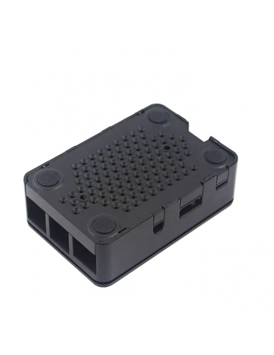 Boitiers - Boitier ABS noir Raspberry Pi 3 - 3