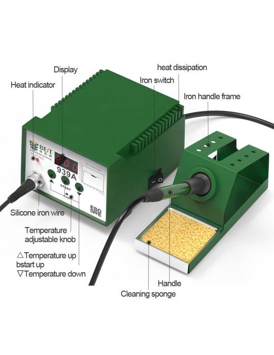 Outillage - Station à souder BEST 939D - 6W - 100 à 480°C - 2