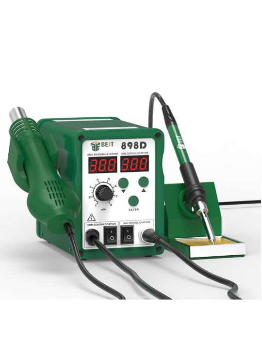 Stations & fers à souder - Station à souder Multifonctions BEST 898D+ - 780W- 100 à 450°C - 1