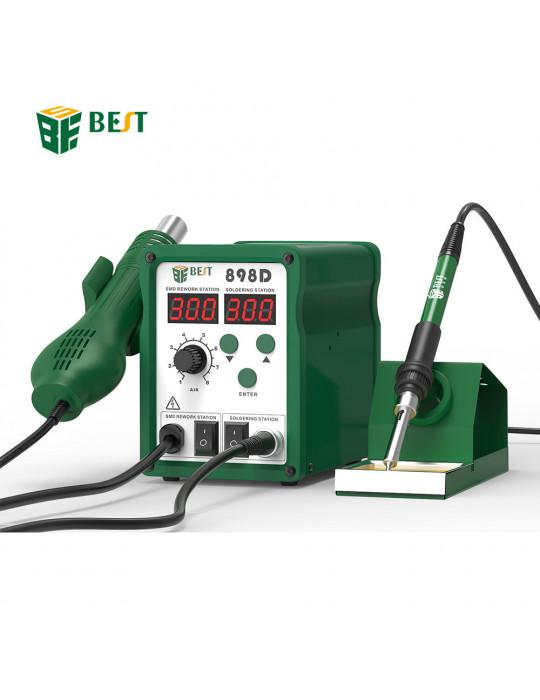 Stations & fers à souder - Station à souder Multifonctions BEST 898D+ - 780W- 100 à 450°C - 2