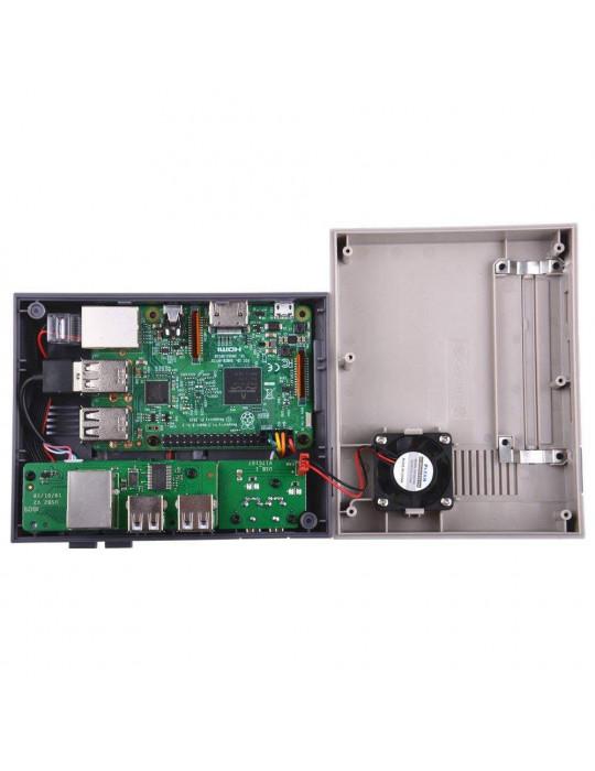Gaming - Rétro / DIY - Boîtier NesPi Case + pour Raspberry Pi 3 - 6