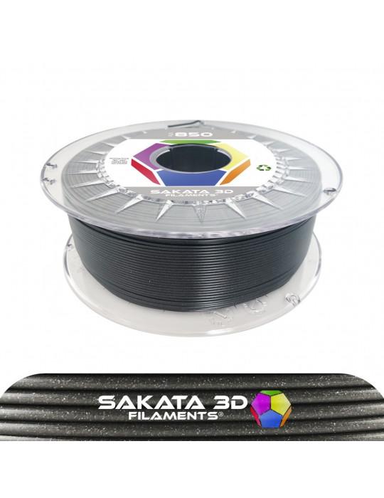 Filaments PLA - Filament PLA SAKATA HR-850 1,75mm 1Kg (Ingeo 3D850) - Magic Coal (noir métalisé) - 1
