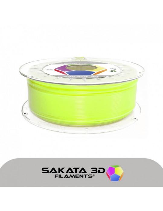 Filaments PLA - Filament PLA SAKATA HR-850 1,75mm 1Kg (Ingeo 3D850) - Citron Vert Fluo - 1