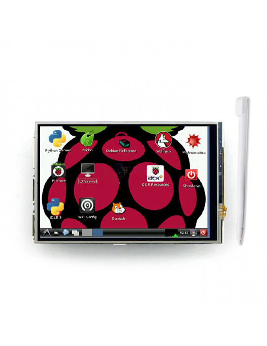 """Modules nanos-PC - Ecran TFT 3.5"""" + Stylet pour Raspberry Pi - 1"""