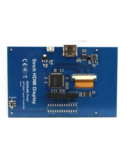 """Modules nanos-PC - Ecran LCD IPS 5"""" pour Raspberry Pi - 5"""