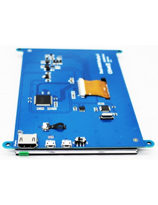 """Modules nanos-PC - Ecran LCD 7"""" Haute Résolution pour Raspberry Pi - Tactile HDMI - 4"""