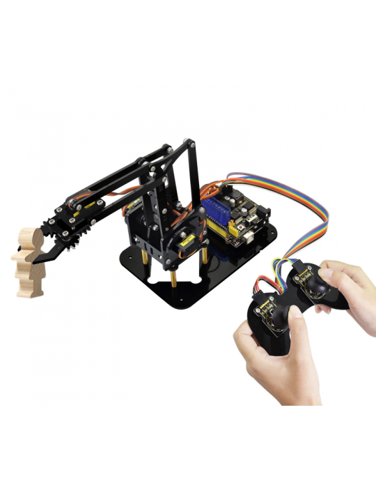 Robotique - Kit bras robotisé complet - Éducatif et loisir - 1