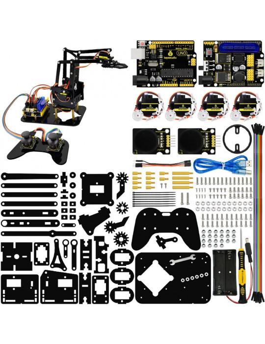 Robotique - Kit bras robotisé complet - Éducatif et loisir - 3