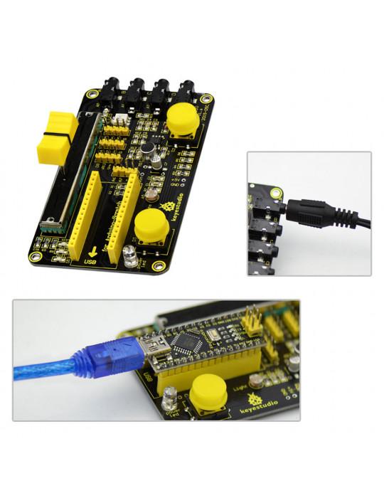 Modules Arduino - Shield de contrôles pour Arduino Nano - 4