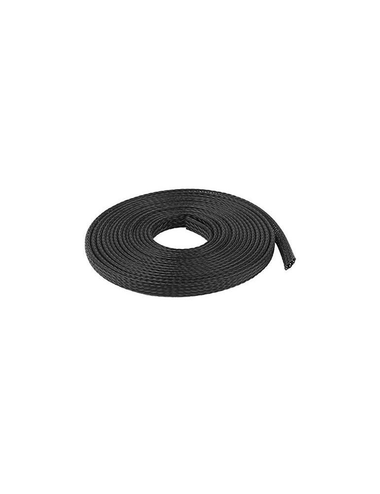 Gaine Extensible Diamètre 12 Mm Noir