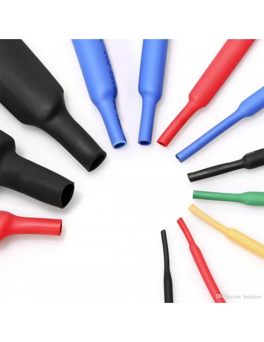 Gaines Thermorétractable - Gaine thermorétractable diamètre 2 mm vendue au mètre - 2