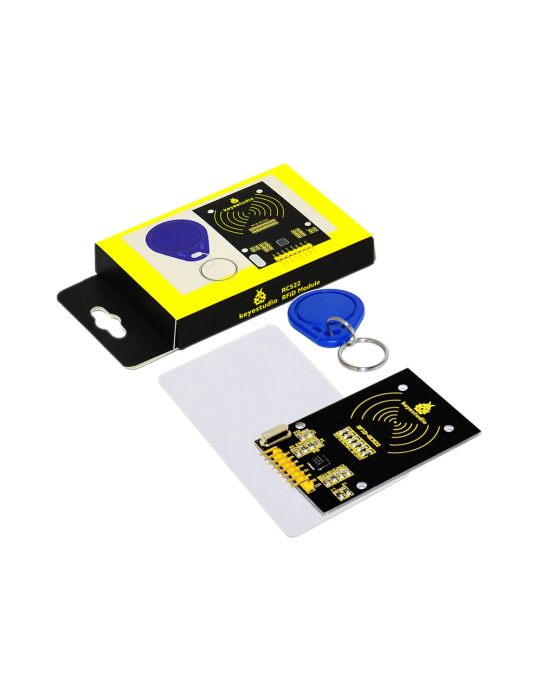 Modules Arduino - Module lecteur RFID + badge et carte pour Arduino - 1