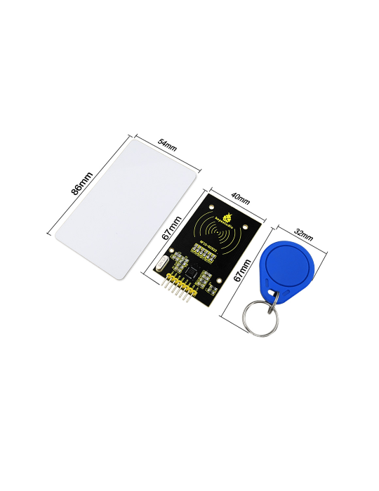 Modules Arduino - Module lecteur RFID + badge et carte pour Arduino - 4