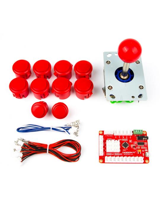 Manettes - Kit joystick arcade pour 1 joueur - 1