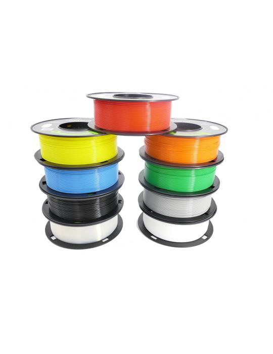 Filaments PLA - Filament PLA MaterialZ Ingeo 4032D 1,75mm - 1Kg Carmin Red (rouge) - 3