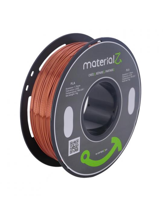 Filaments PLA - Filament PLA MaterialZ Ingeo 4032D 1,75mm - 1Kg Element Copper (cuivre) - 2