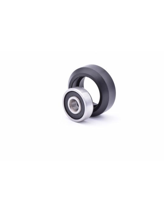 Galets - Galet roue POM véritable  CompoZan HQ - Type OpenBuilds V-slot - 4