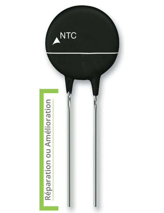 Compo(Z)sants - Thermistance de protection EPCOS ICL CTN (type 5D-15), 5 ohms, Série B57238S0 - 1