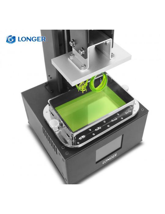SLA, LCD - Imprimante 3D Longer3D Orange 10 - LCD 140x98x55mm à résine haute précision - 4