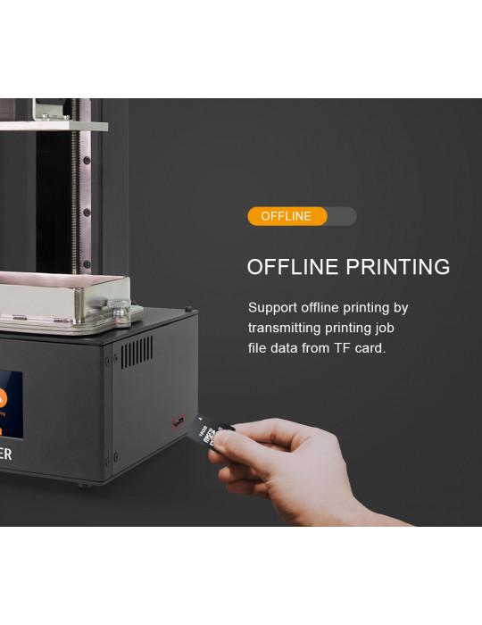 SLA, LCD - Imprimante 3D Longer3D Orange 10 - LCD 140x98x55mm à résine haute précision - 11