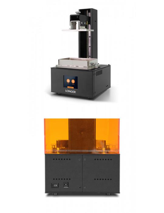 SLA, LCD - Imprimante 3D Longer3D Orange 10 - LCD 140x98x55mm à résine haute précision - 14