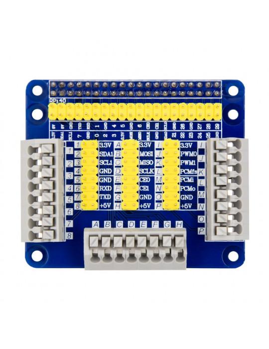 Modules - Hat GPIO multifonctions - Raspberry Pi modèle B - 2