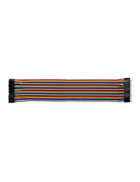Connectiques / Câblages - Rallonge de câble GPIO Mâle / Femelle - 30 cm - 1