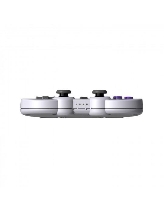 Manettes - Manette de jeux rétro 8bitDo SN30 Pro - SNES Sticks analogiques sans fil - 8