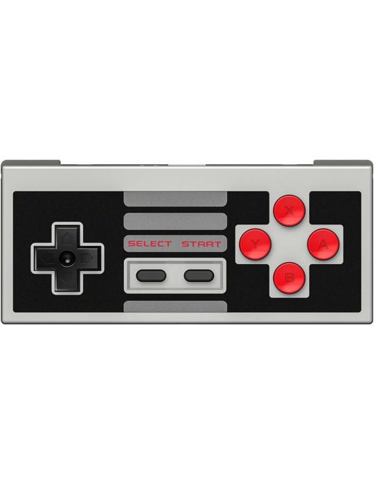 Manettes - Manette de jeux rétro 8bitDo NES30 - NES sans fil avec dock USB - 6