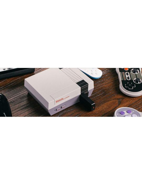Manettes - Manette de jeux rétro 8bitDo NES30 - NES sans fil avec dock USB - 7