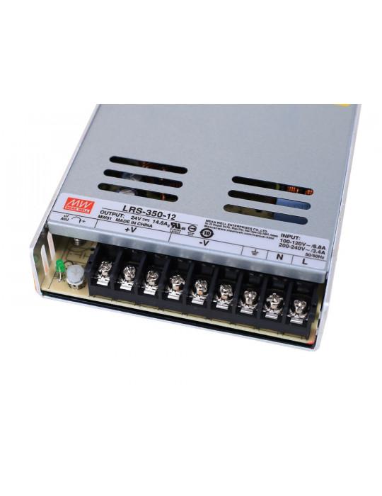 Boitier d'alimentation (PSU) - MeanWell LRS-350-24 - Alimentation boitier électrique - 350W - 24V 15A - 2