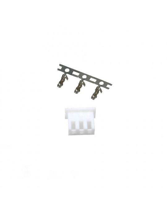 Connecteurs - Connecteur JST-HX 3 broches femelle - lot de 10 - 1