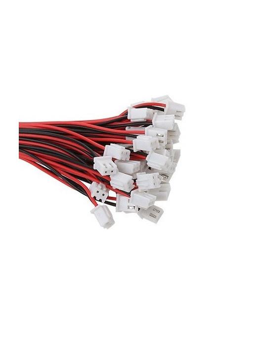 Connecteurs - Connecteur JST-HX 2 broches femelle - lot de 10 - 2