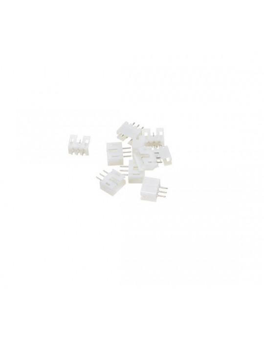 Connecteurs - Connecteur JST-HX 3 broches mâle droit - lot de 10 - 2