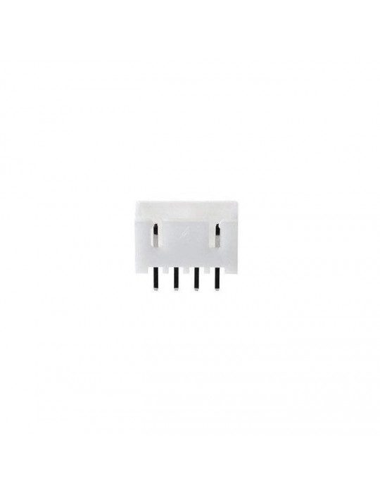 Connecteurs - Connecteur JST-HX 4 broches mâle droit - lot de 10 - 1