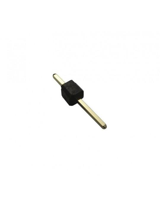 Connecteurs - Connecteur DuPont monobroche mâle droit - lot de 10 - 1