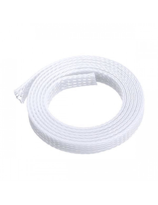 Gaines tressées - Gaine extensible diamètre 8 mm blanc - au mètre - 3