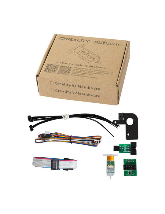 Améliorations - Creality Kit BLTouch complet - Support - nappes - connecteurs - flash - 2