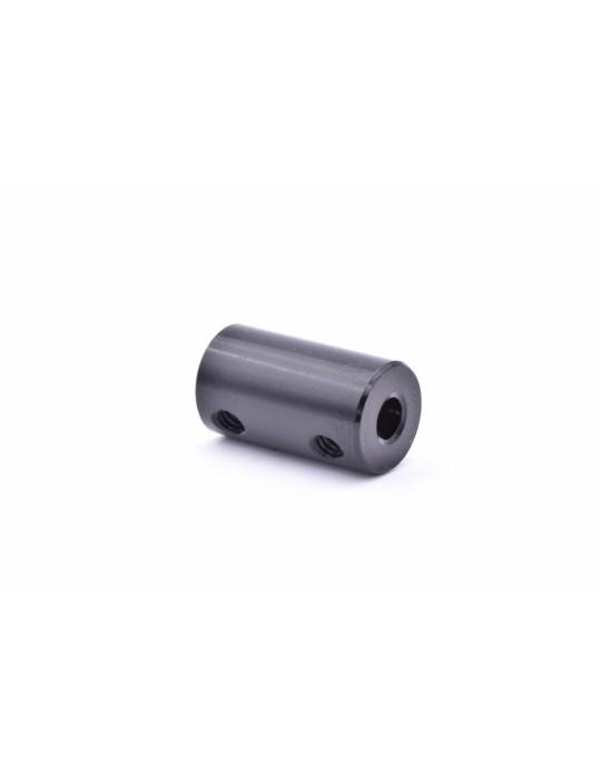 Visserie - Coupleur rigide noir Aluminium T8-T5 - 1