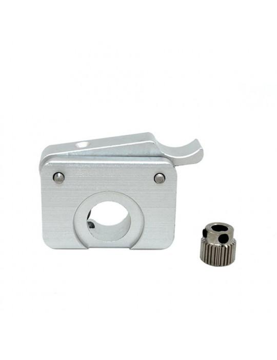 Extrudeurs - Extrudeur MK10 en aluminium pour filament 1.75mm (montage à gauche) - 4