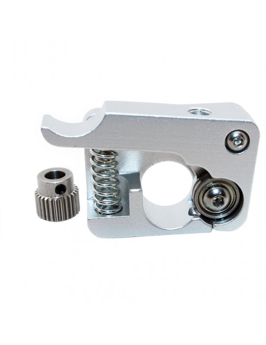 Extrudeurs - Extrudeur MK10 en aluminium pour filament 1.75mm (montage à gauche) - 3