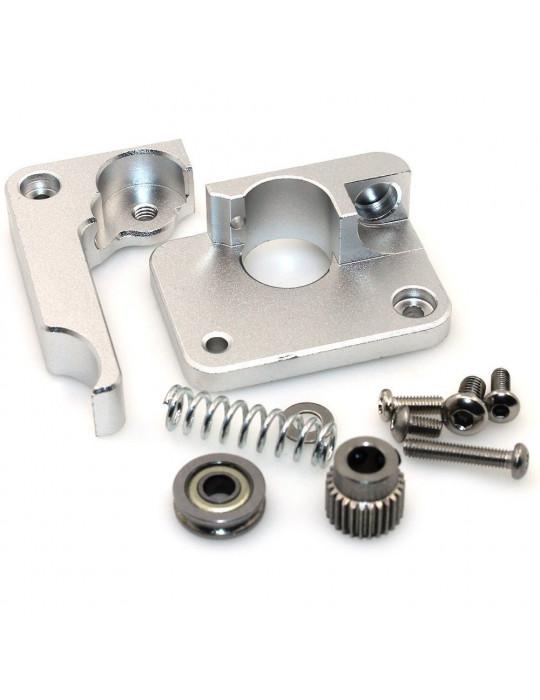 Extrudeurs - Extrudeur MK10 en aluminium pour filament 1.75mm (montage à gauche) - 5