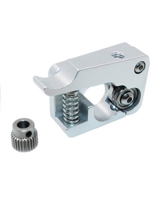 Extrudeurs - Extrudeur MK10 en aluminium pour filament 1.75mm (montage à gauche) - 2