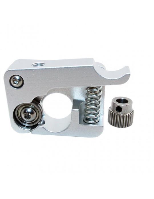 Extrudeurs - Extrudeur MK10 en aluminium pour filament 1.75mm (montage à droite) - 3