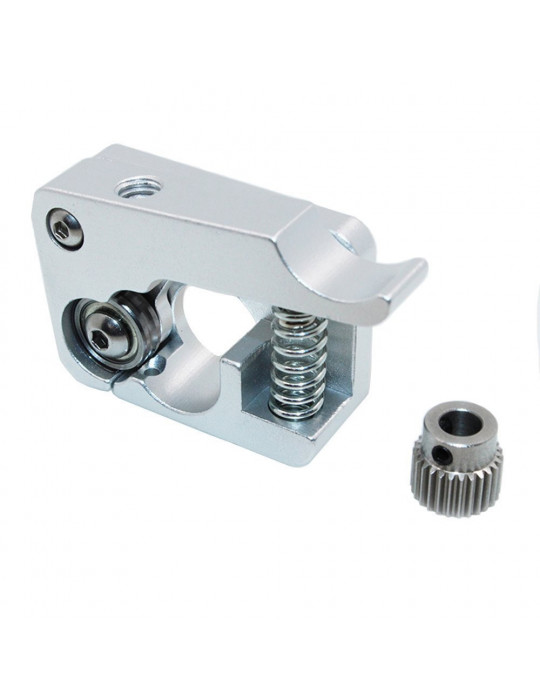 Extrudeurs - Extrudeur MK10 en aluminium pour filament 1.75mm (montage à droite) - 2