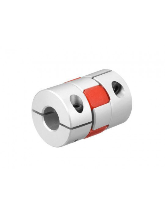 Visserie - Coupleur araignée Aluminium T8-T5 - 1