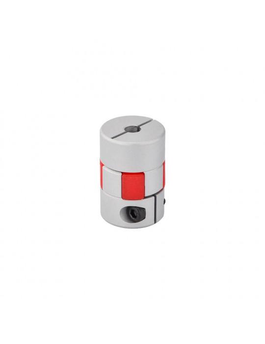 Visserie - Coupleur araignée Aluminium T8-T5 - 2