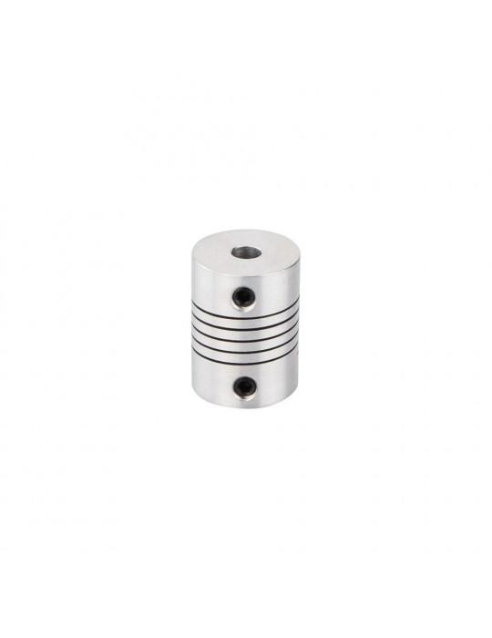 Visserie - Coupleur flexible Aluminium T8-T5 - 2