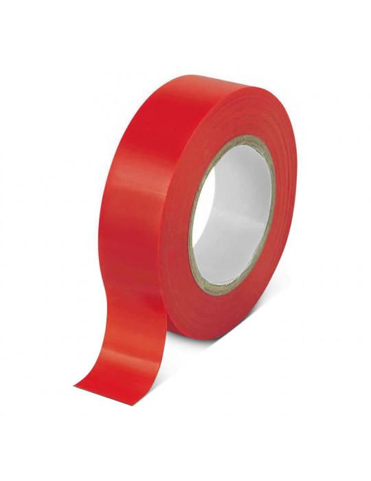 Isolation - Ruban adhésif isolant rouge - 1