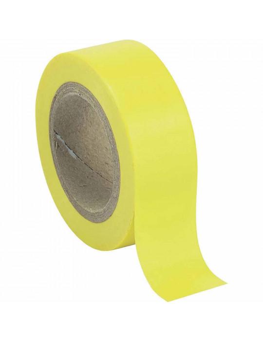 Isolation - Ruban adhésif isolant jaune - 1
